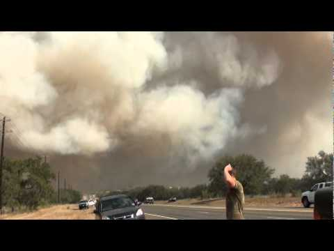 The Texas Wildfires!