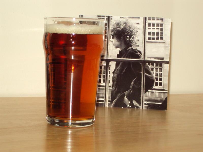 Bob Dylan Passes By.