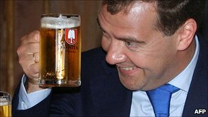 Russian Bear & Beer