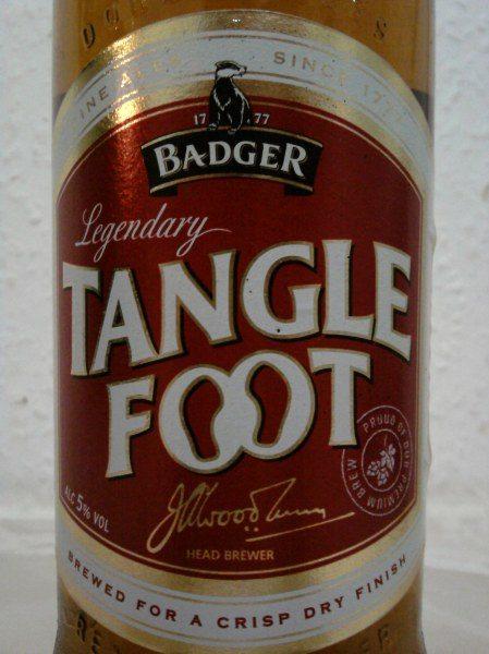 The night I tangled more than my feet