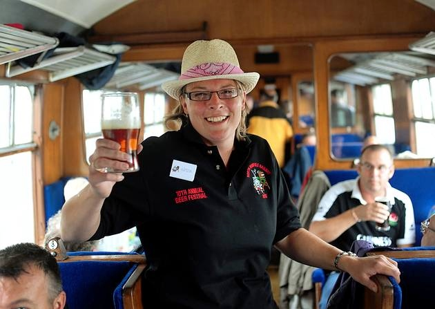 Drinking on the Train?
