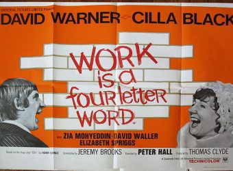 WORK is a Four Letter Word!