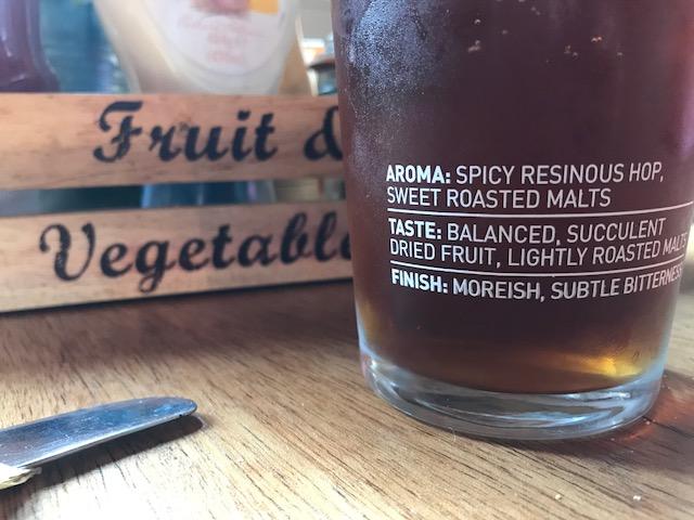 Nice and Sharp: Amber Ale