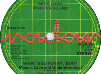 Nick Lowe and His Sound