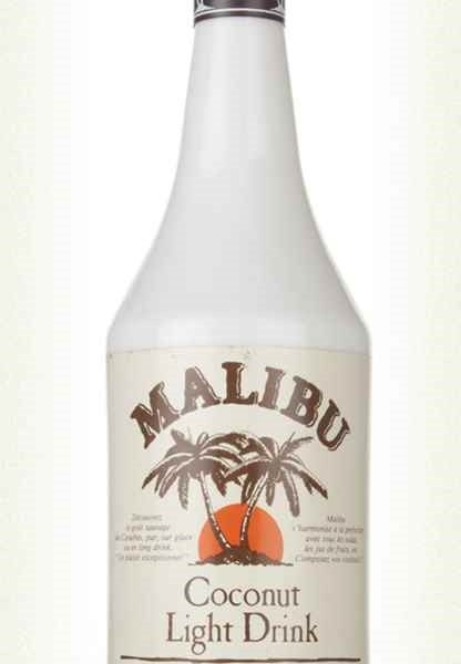 The early days in ten drinks – 9 Malibu de bum bum